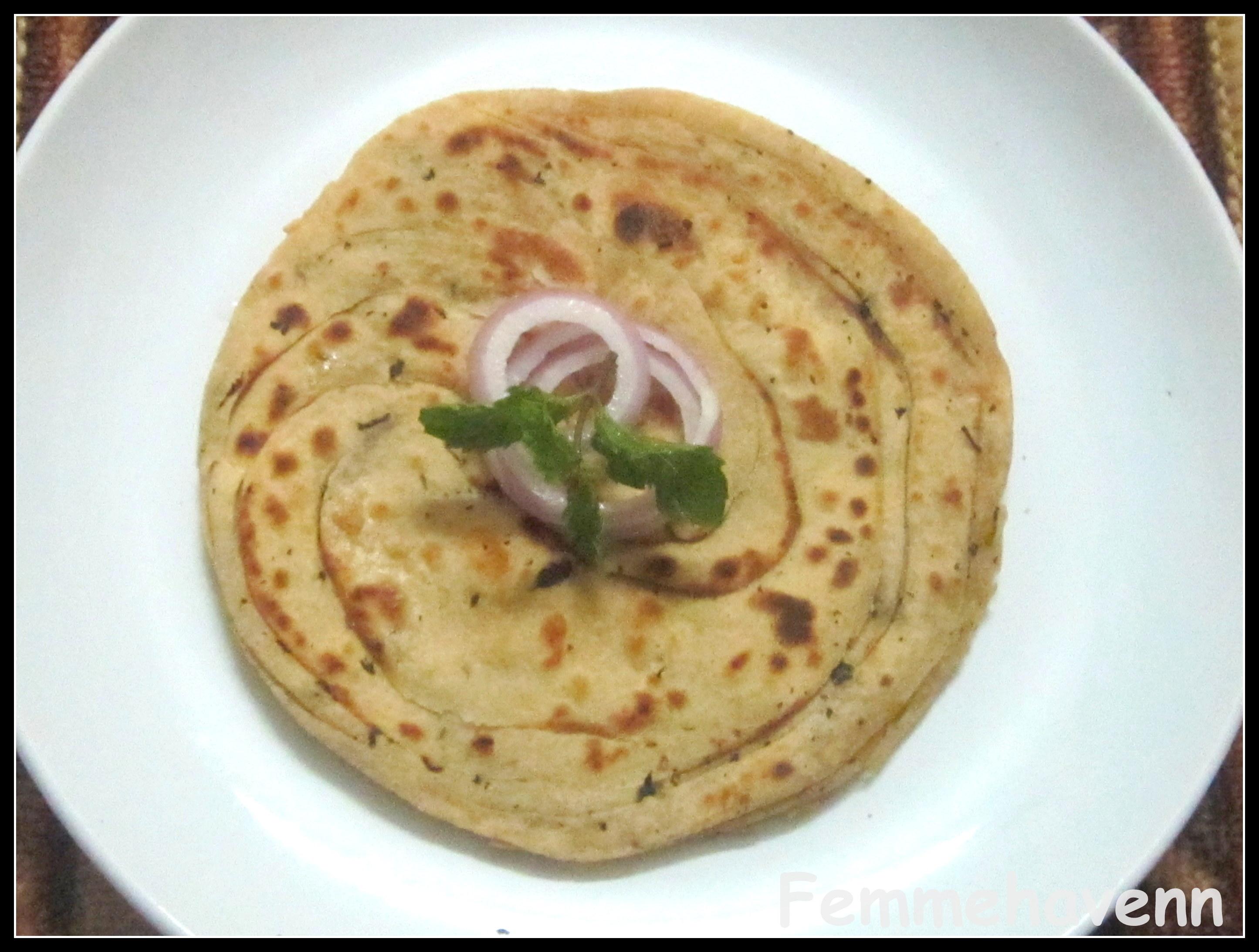 mintparatha